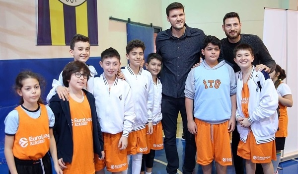 Fenerbahce stars support EuroLeague Academy launch