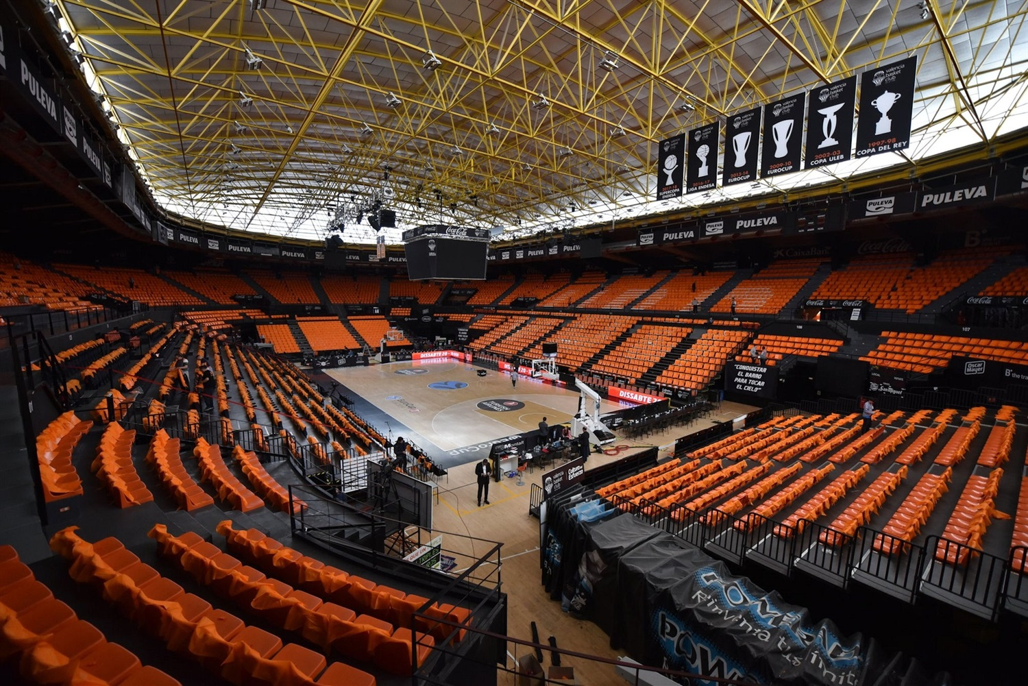Pabellon Fuente de San Luis - EuroCup Finals Game 3 (photo Valencia Basket) - EC18