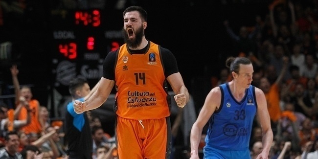 Finals, Game 3 MVP: Bojan Dubljevic, Valencia Basket