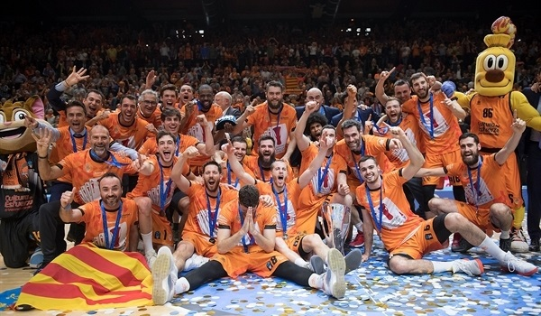 Finals Game 3: Valencia routs ALBA for record fourth EuroCup crown