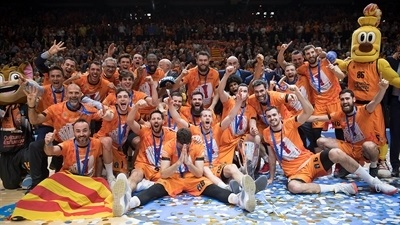 Valencia routs ALBA for record fourth EuroCup crown