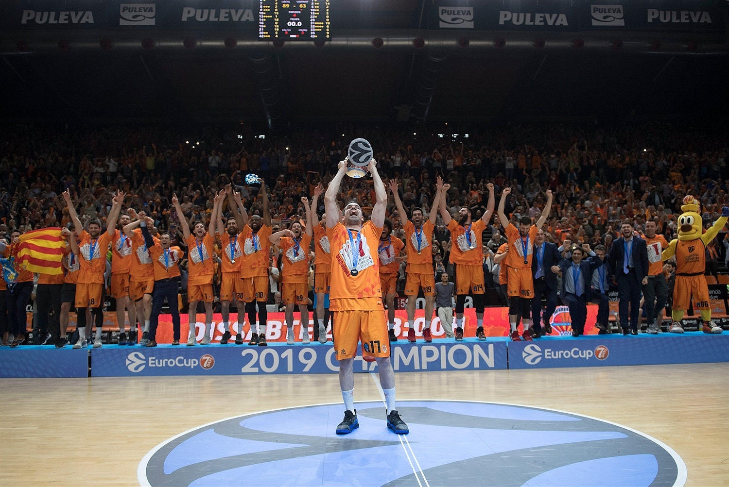 Valencia Basket champ - EuroCup Finals Game 3 - EC18