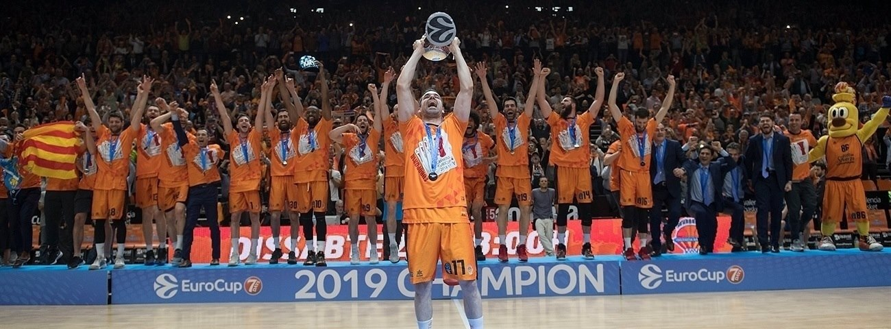 7DAYS EuroCup champions (2003 - 2019)