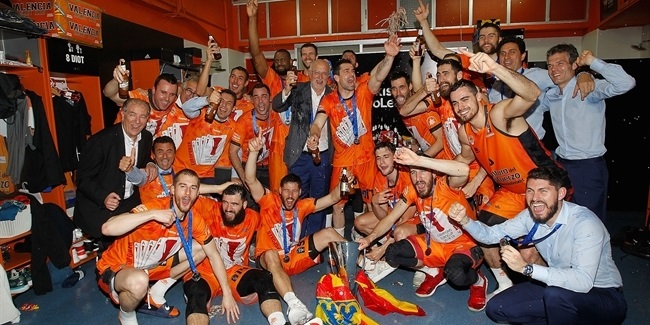 7DAYS EuroCup Finals 2018-19: Valencia Basket celebration!