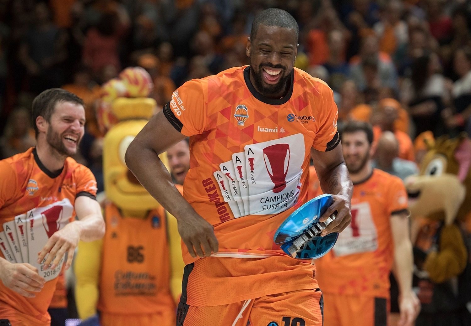 Will Thomas, Finals MVP - Valencia Basket - EuroCup Finals Game 3 - EC18