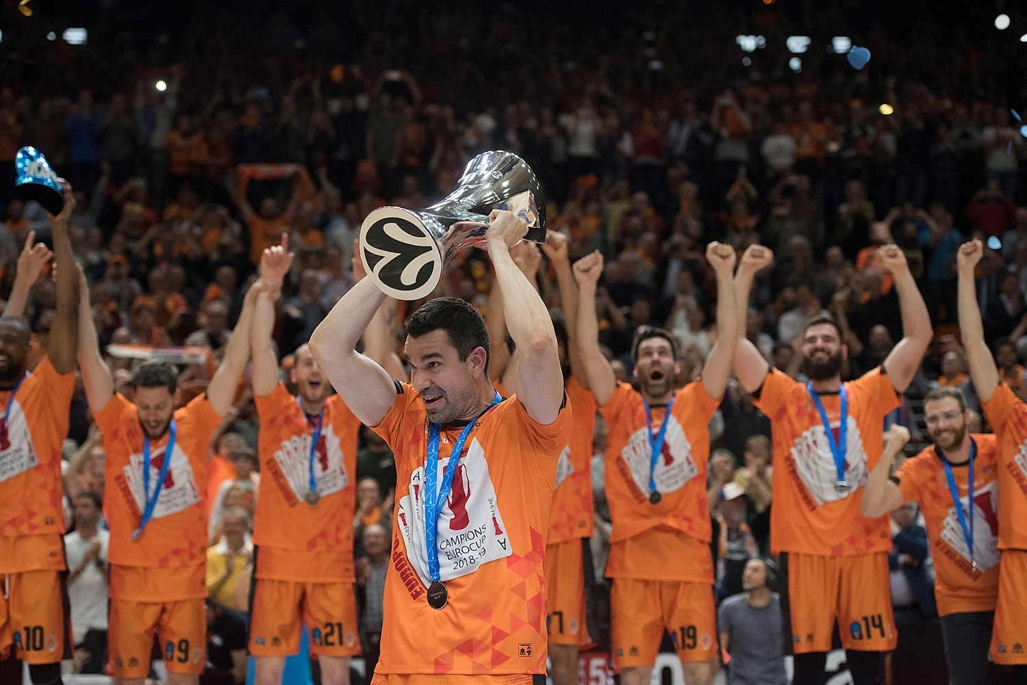 Rafa Martinez - Valencia Basket champ - EuroCup Finals Game 3 - EC18