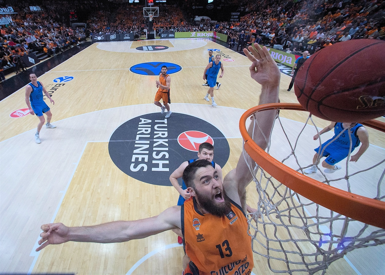 Mike Tobey - Valencia Basket - EuroCup Finals Game 3 - EC18