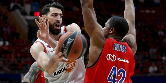 Playoffs Game 1: CSKA Moscow vs. KIROLBET Baskonia Vitoria-Gasteiz