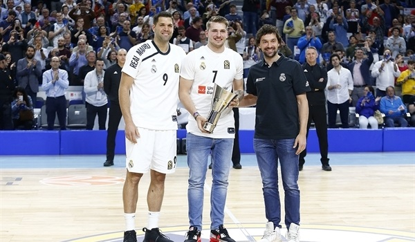 Doncic returns for Madrid's playoffs opener