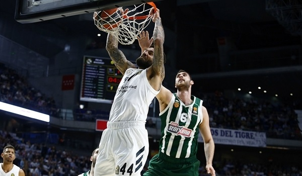 PO Game 1 report: Madrid finishes strong to hold off Panathinaikos