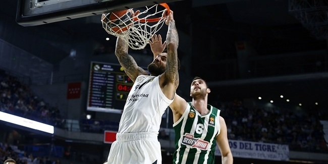 Playoffs Game 1: Real Madrid vs. Panathinaikos OPAP Athens