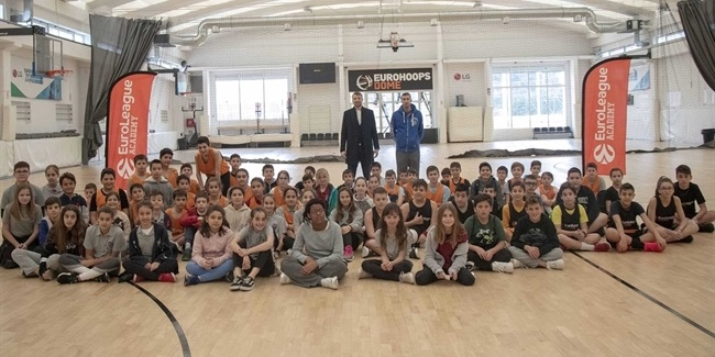 Diamantidis and Papaloukas launch EuroLeague Academy in Athens