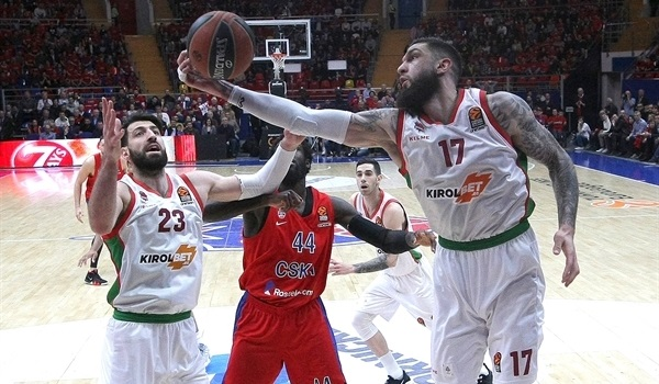 PO Game 2 report: Baskonia overpowers CSKA to even series