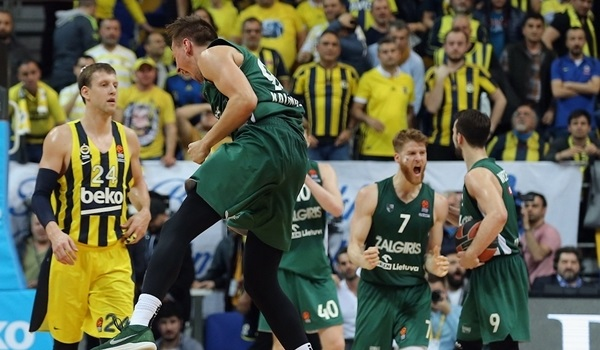 PO Game 2 report: Zalgiris holds off Fenerbahce in shocker