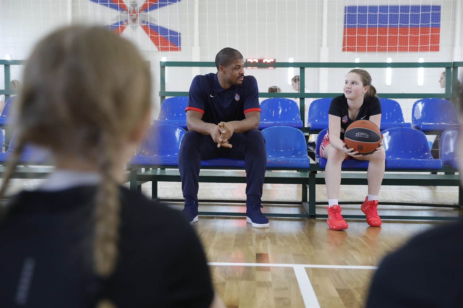 Kyle Hines - One Team session in Moscow - CSKA Moscow (photo CSKA) - EB18