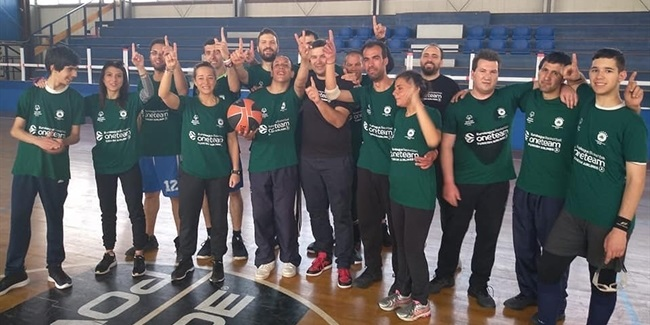 Panathinaikos and Special Olympics changing lives in Athens