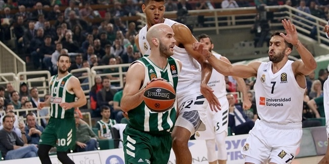Playoffs Game 3:  Panathinaikos OPAP Athens vs. Real Madrid