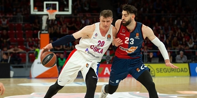 Playoffs Game 3: KIROLBET Baskonia Vitoria-Gasteiz vs. CSKA Moscow