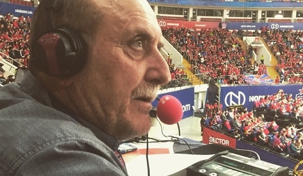 The voice of Baskonia says goodbye