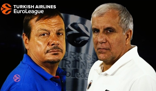 Coaches head-to-head: Ataman vs Obradovic
