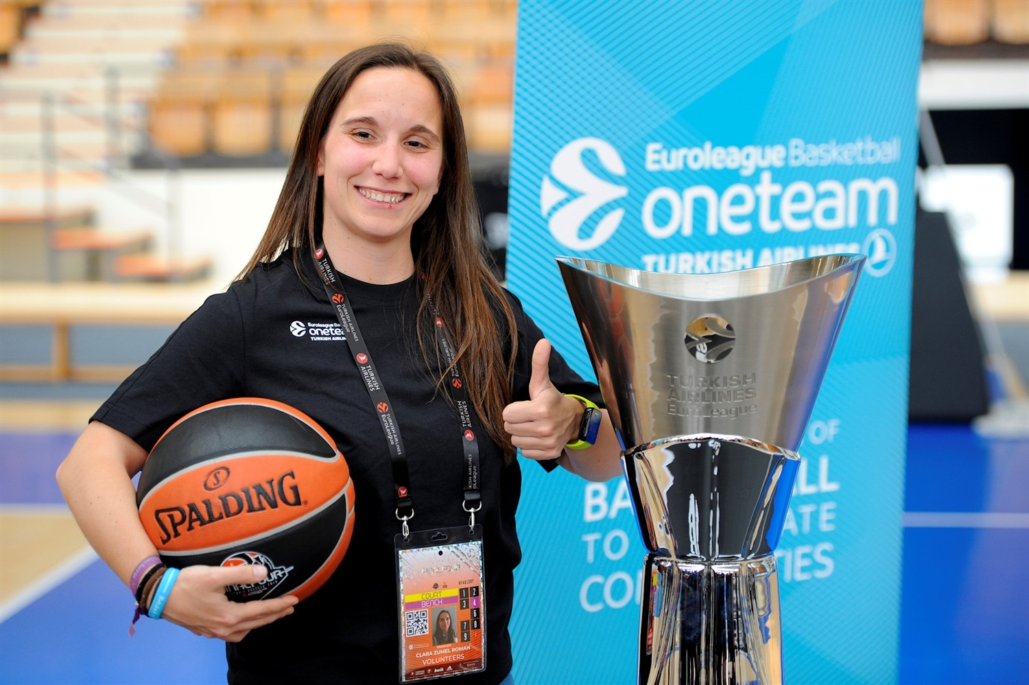 Volunteers - One Team Session - Final Four Vitoria-Gasteiz 2019 - EB18
