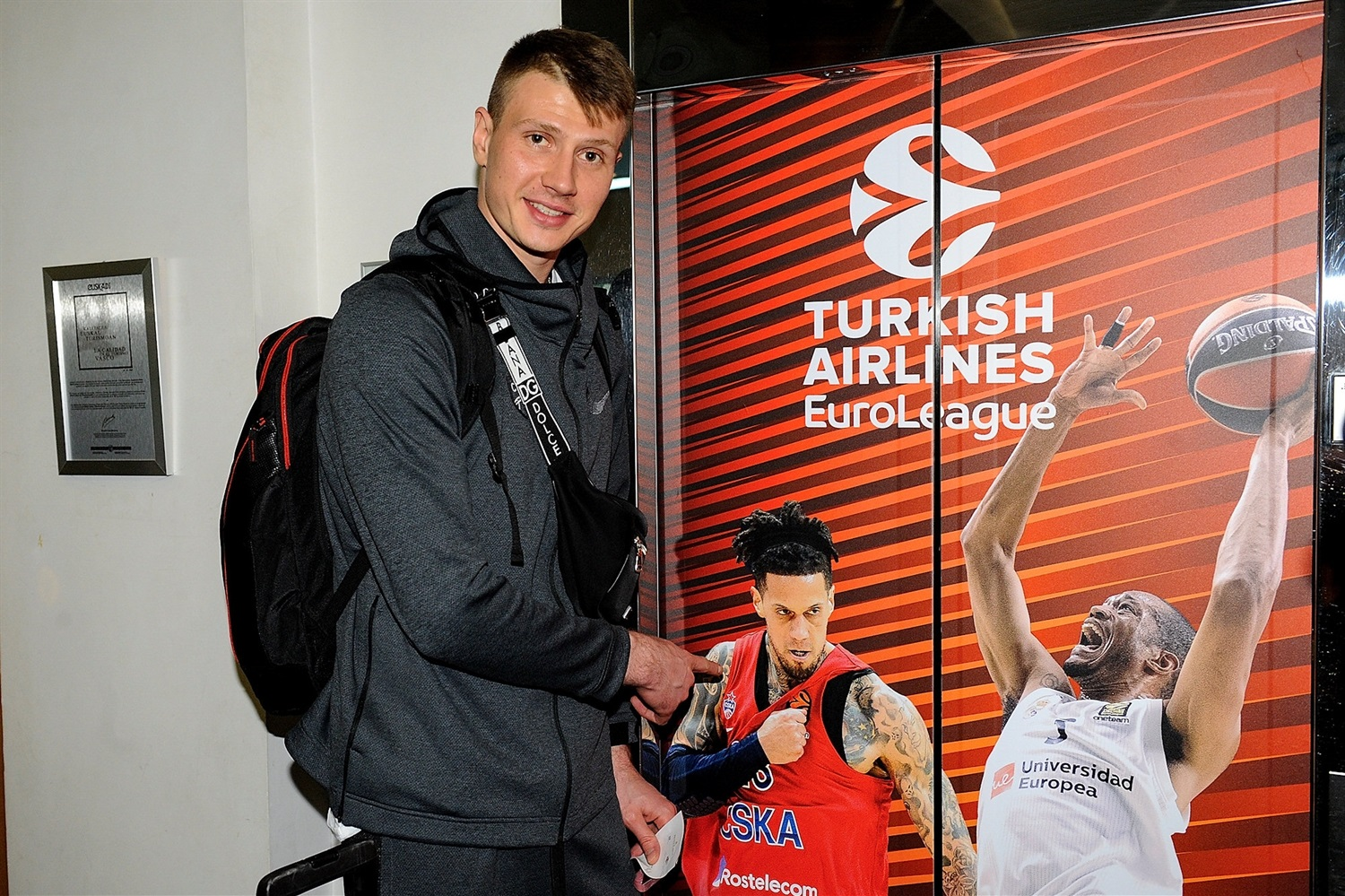 Andrey Vorontsevich - CSKA Moscow arrival - Final Four Vitoria-Gasteiz 2019 - EB18