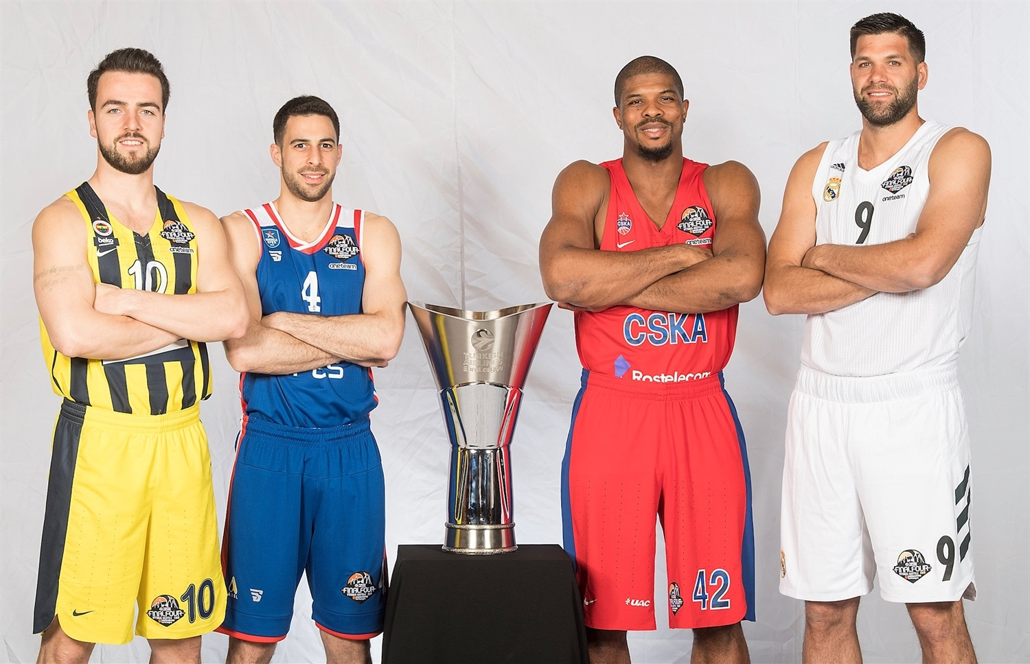 Teams Captains Photo Session - Final Four Vitoria-Gasteiz 2019 - EB18