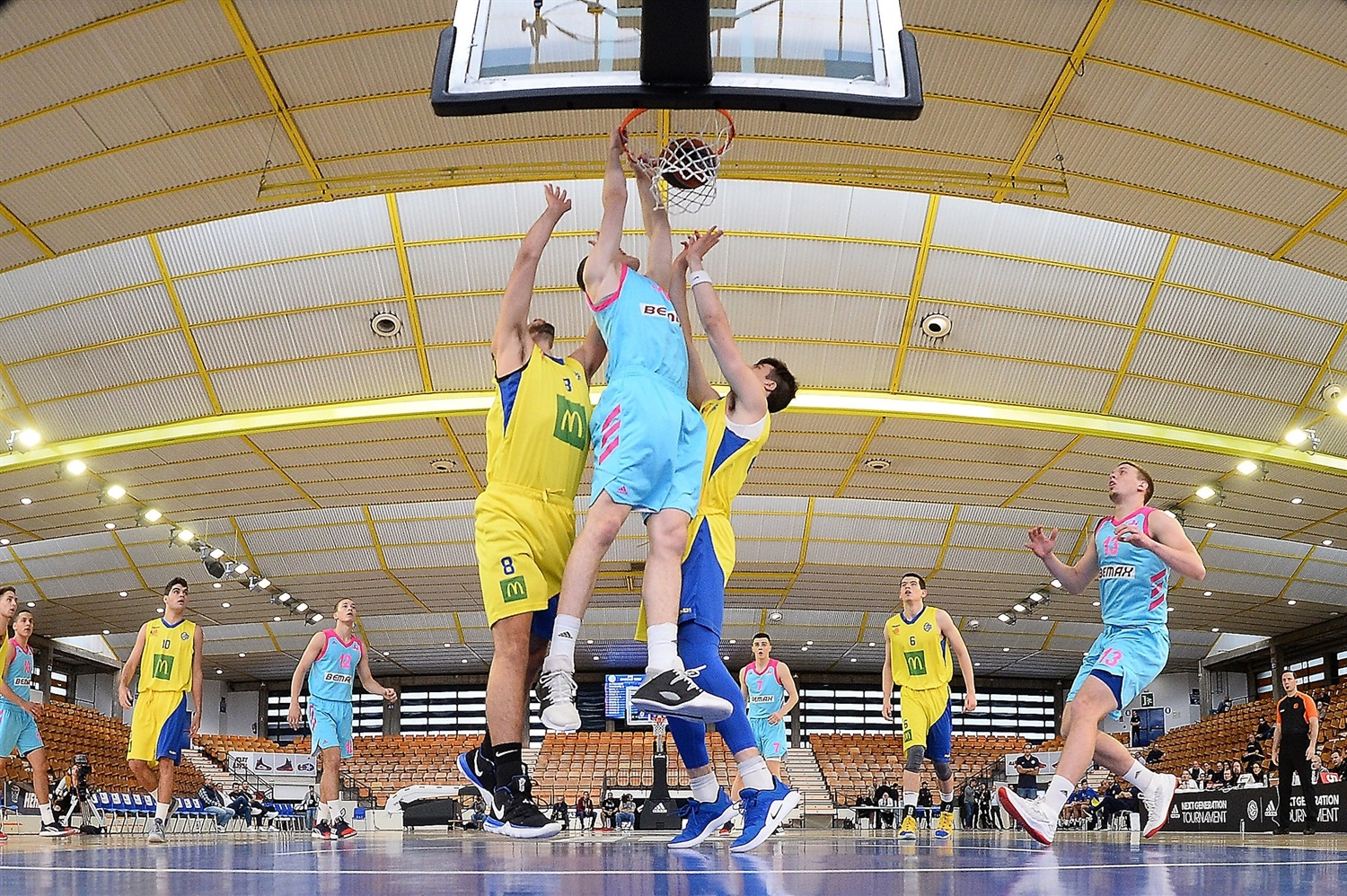 Player U18 Mega Bemax Belgrade - ANGT Final Four Vitoria-Gasteiz 2019 - JT18
