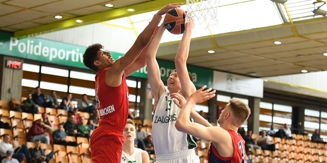 ANGT Final Four Vitoria-Gasteiz: U18 FC Bayern Munich vs. U18 Zalgiris Kaunas