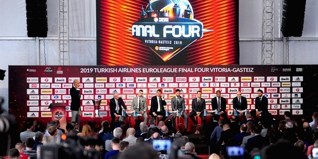 Press Conference opens Vitoria-Gasteiz Final Four