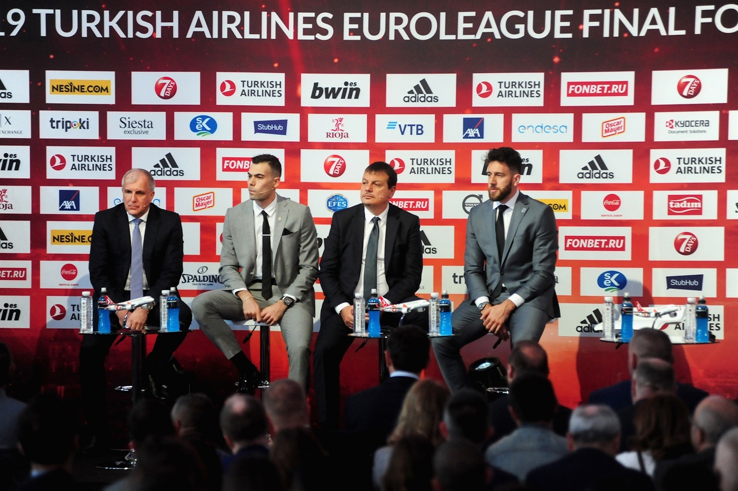 Fenerbahce vs. Efes - Opening Press Conference - Final Four Vitoria-Gasteiz 2019 - EB18