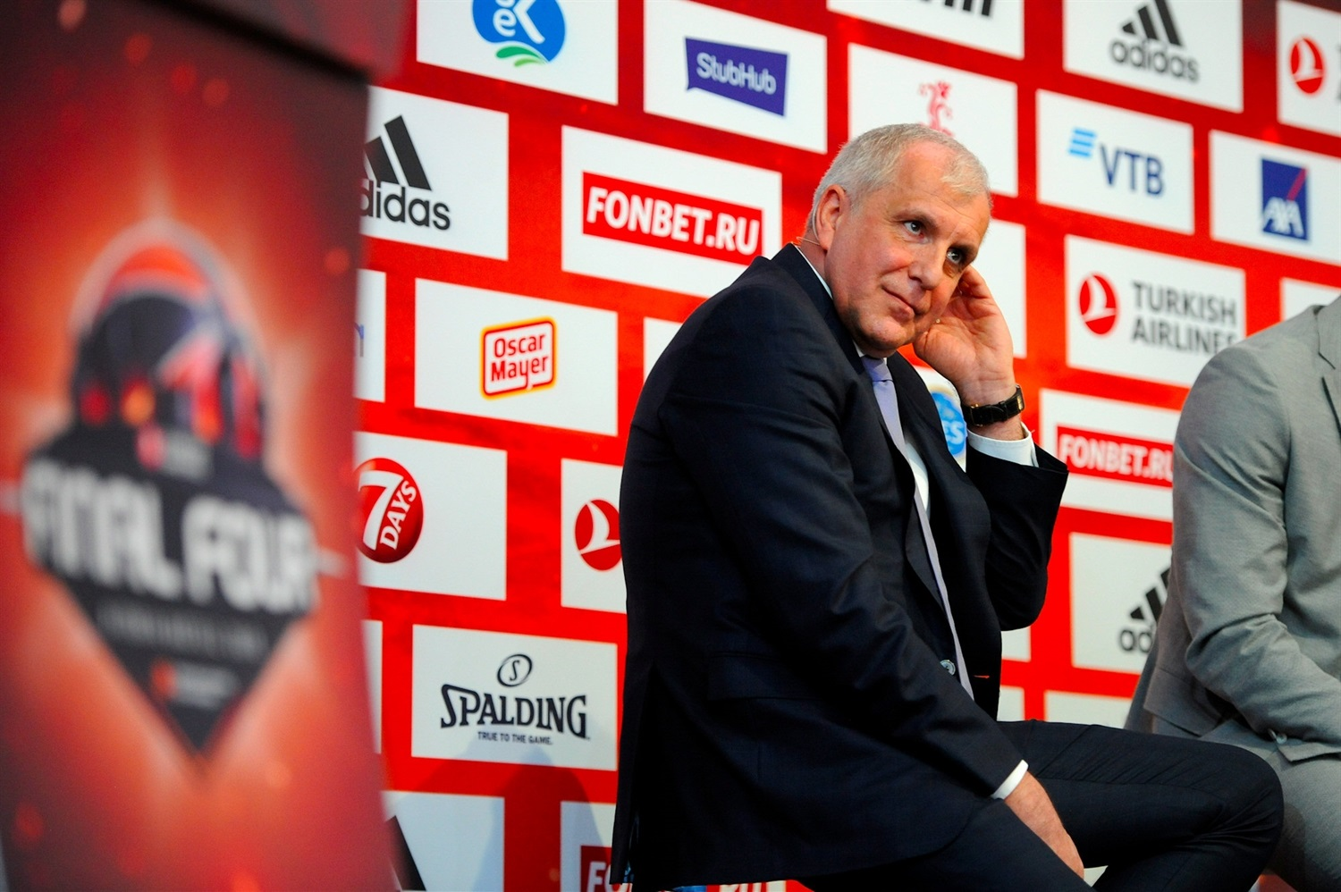 Zeljko Obradovic - Opening Press Conference - Final Four Vitoria-Gasteiz 2019 - EB18