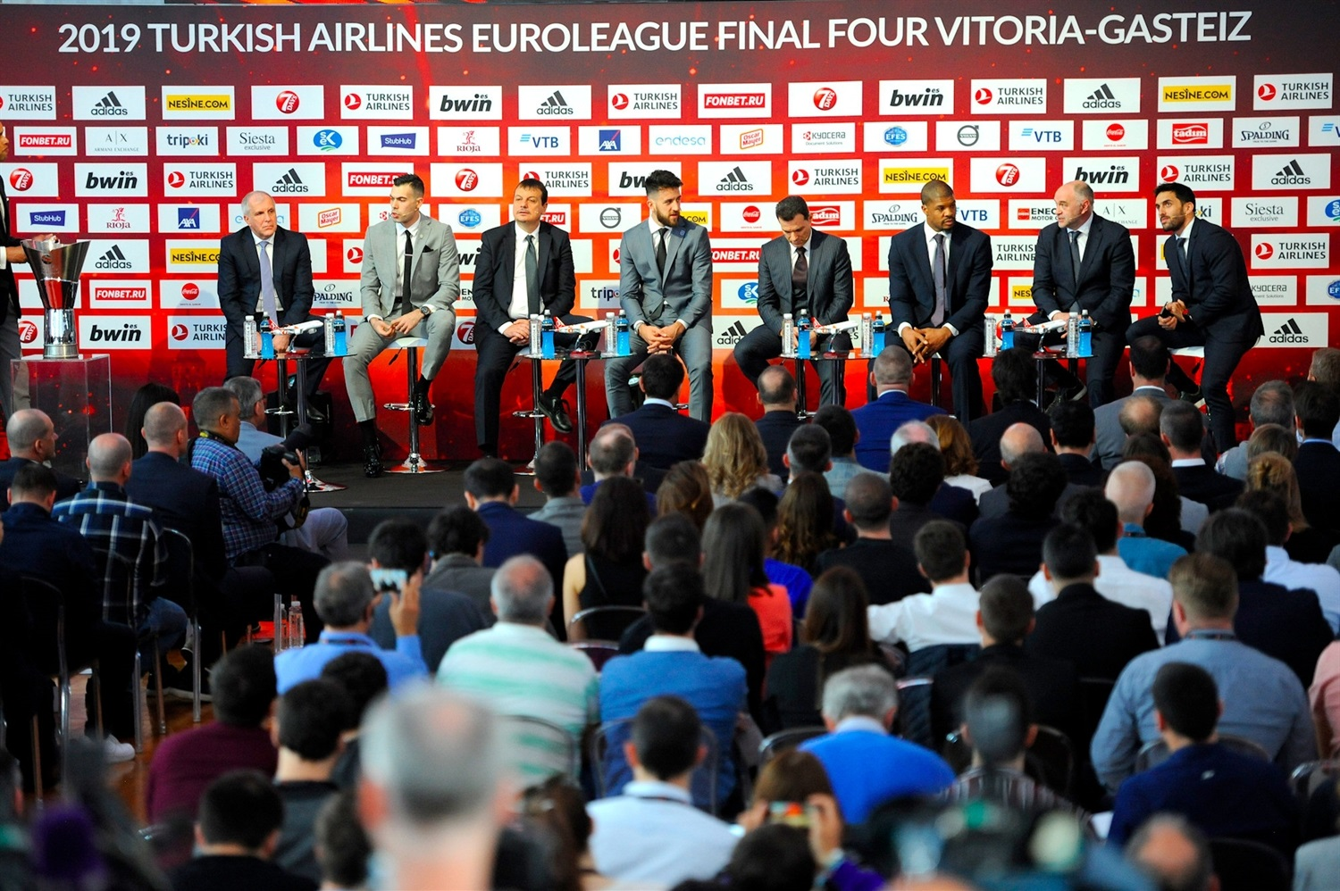 Opening Press Conference - Final Four Vitoria-Gasteiz 2019 - EB18