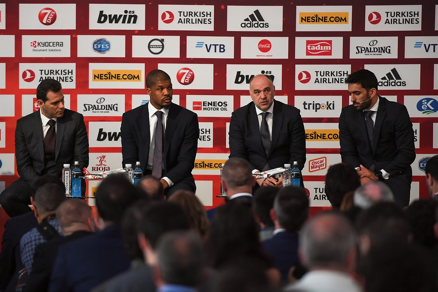 CSKA Moscow vs. Real Madrid - Opening Press Conference - Final Four Vitoria-Gasteiz 2019 - EB18