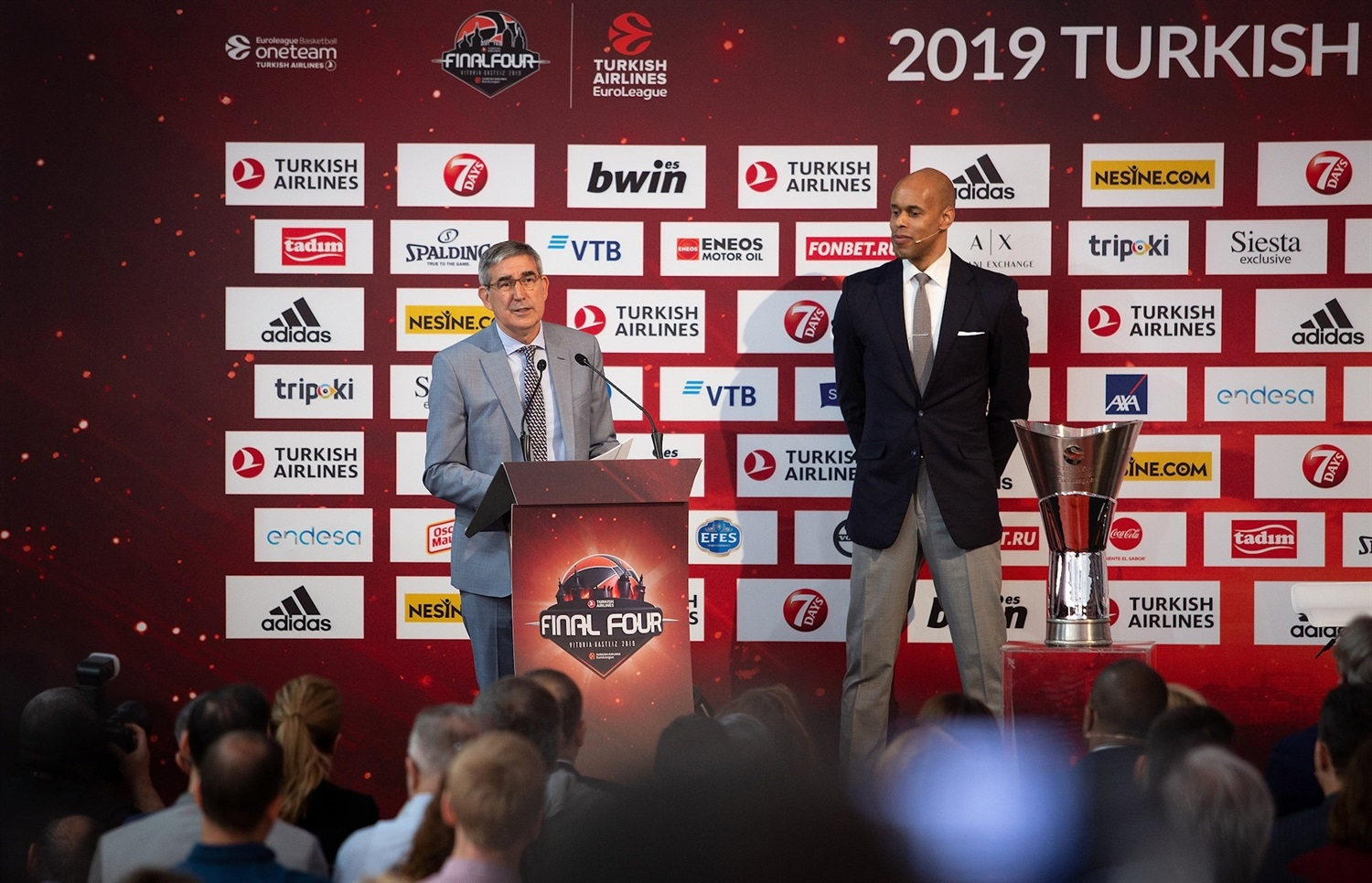 Jordi Bertomeu - Opening Press Conference - Final Four Vitoria-Gasteiz 2019 - EB18