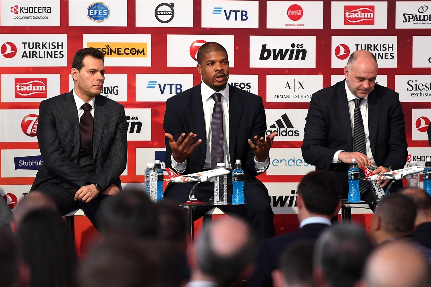 Kyle Hines - Opening Press Conference - Final Four Vitoria-Gasteiz 2019 - EB18