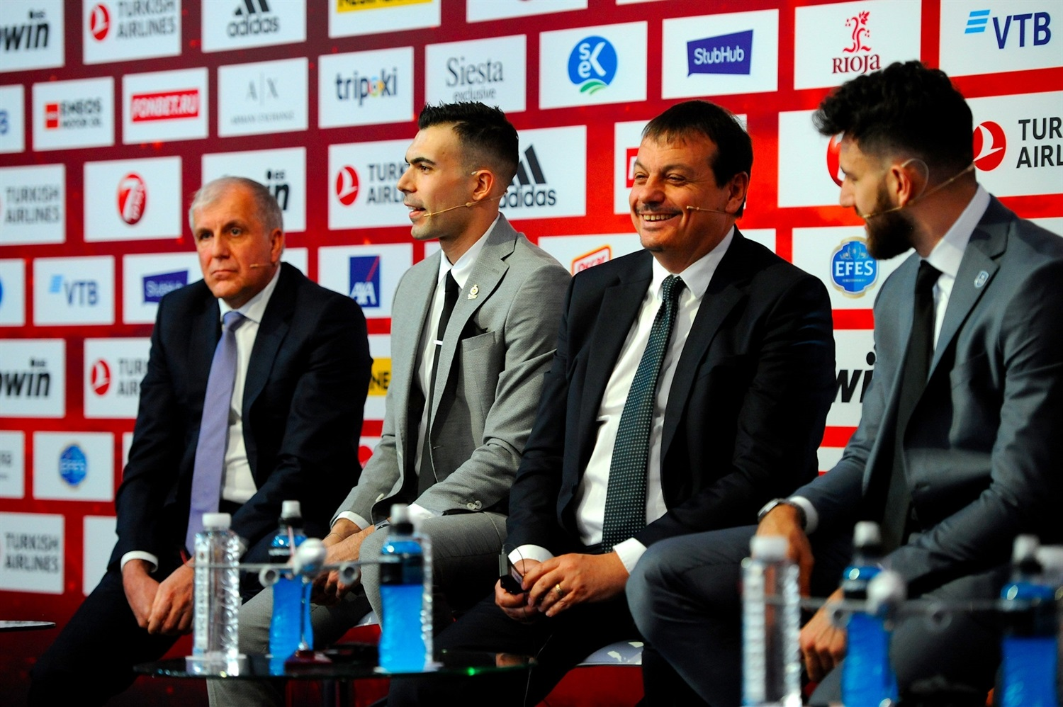 Ergin Ataman - Opening Press Conference - Final Four Vitoria-Gasteiz 2019 - EB18