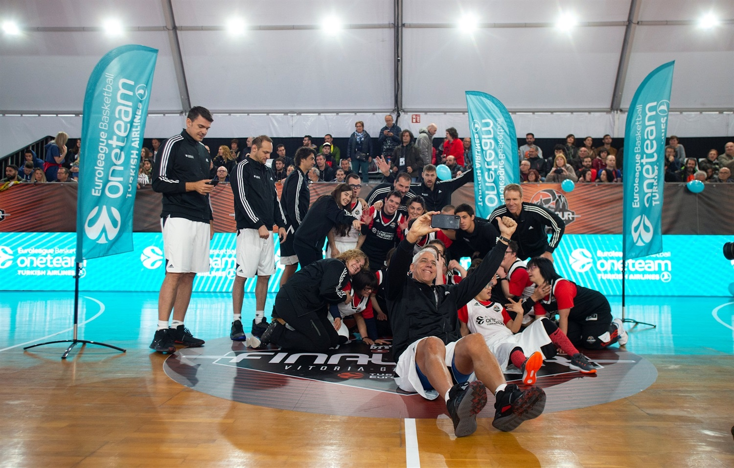 One Team Session at FanZone - Final Four Vitoria-Gasteiz 2019 - EB18