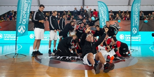 Final Four Vitoria-Gasteiz 2019: One Team session at FanZone