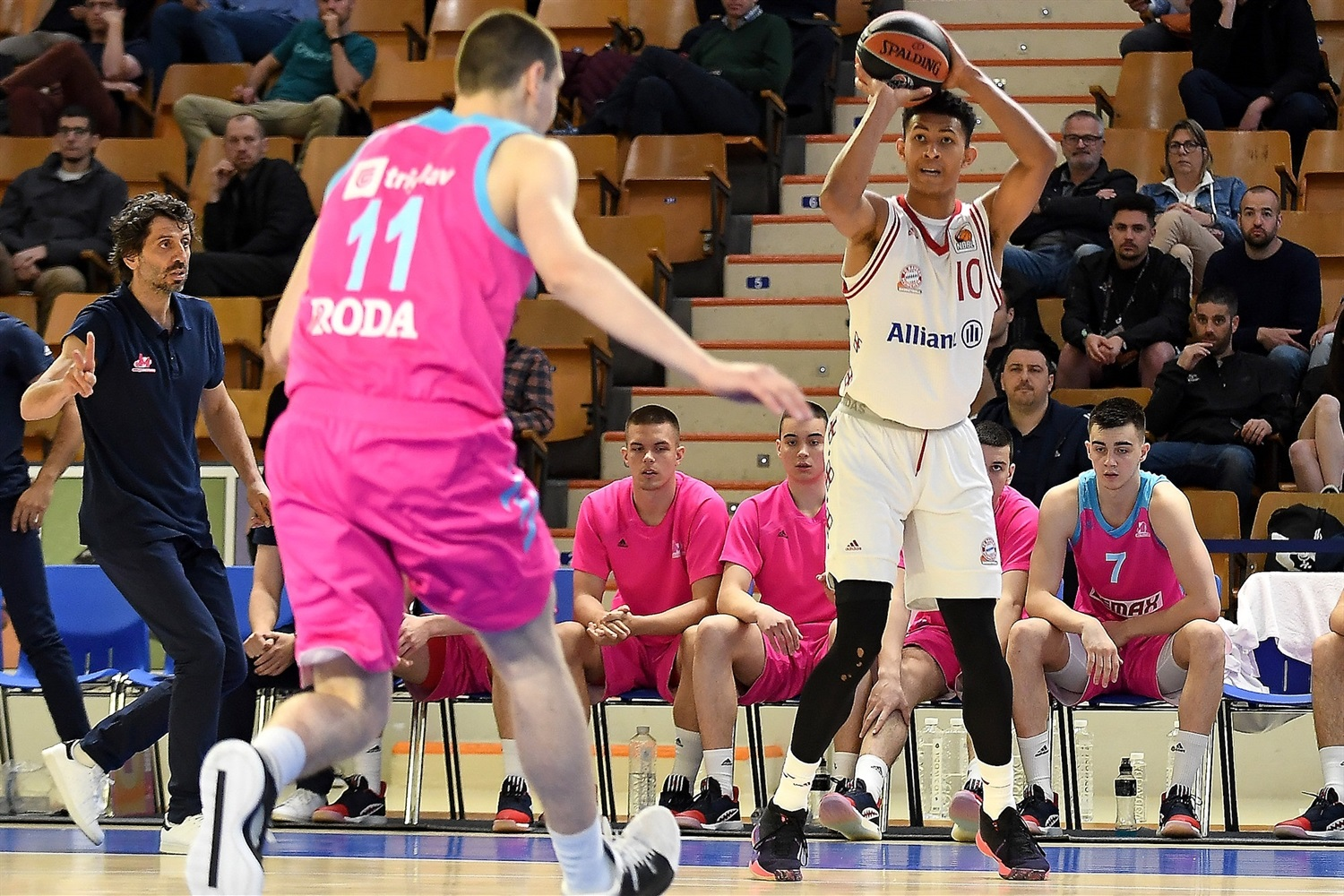 Jason George - U18 FC Bayern Munich - ANGT Final Four Vitoria-Gasteiz 2019 - JT18