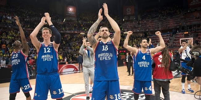 FINAL, ANADOLU EFES ISTANBUL: DID YOU KNOW THAT...