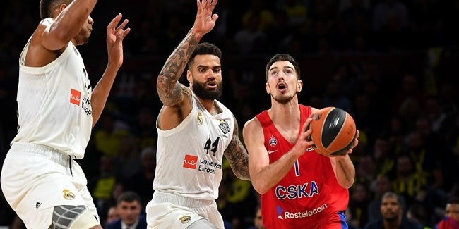 Final Four Vitoria-Gasteiz 2019: Semifinal, CSKA Moscow vs. Real Madrid