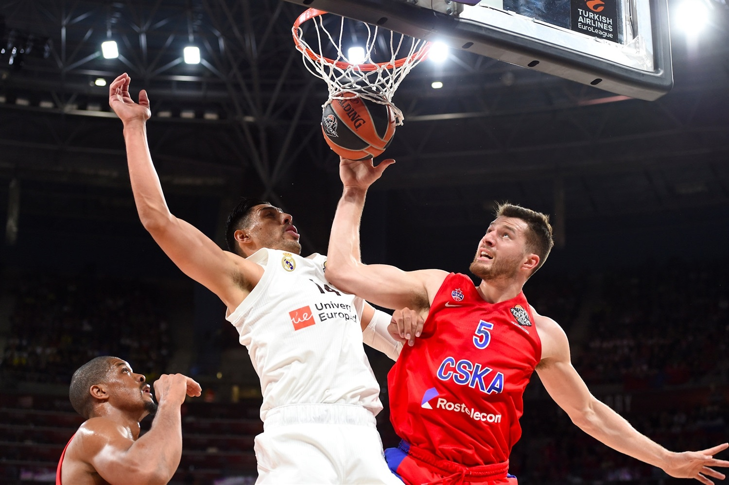 Alec Peters - CSKA Moscow - Final Four Vitoria-Gasteiz 2019 - EB18