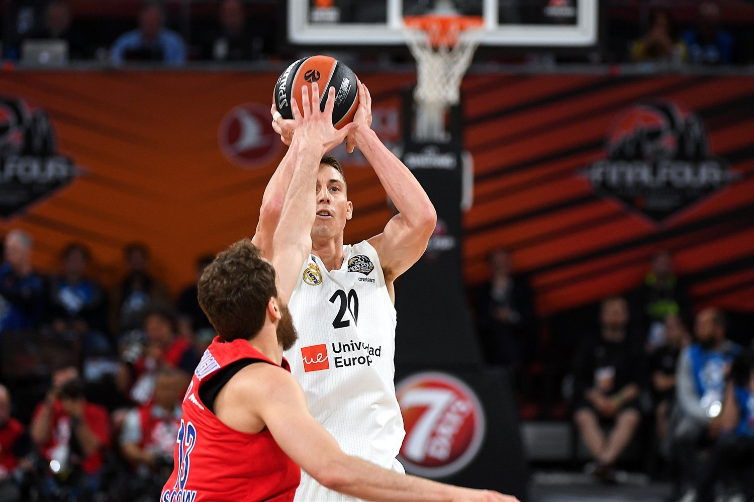 Jaycee Carroll - Real Madrid - Final Four Vitoria-Gasteiz 2019 - EB18