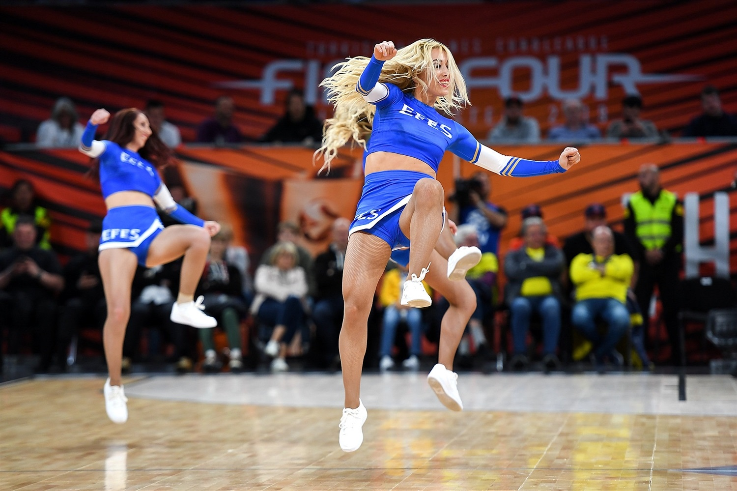 Cheerleaders - Final Four Vitoria-Gasteiz 2019 - EB18