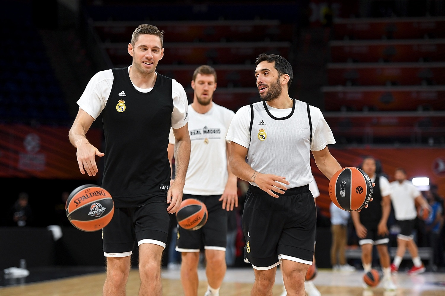 Fabien Causeur - Real Madrid practices - Final Four Vitoria-Gasteiz 2019 - EB18
