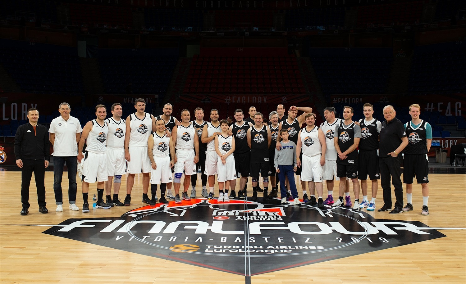 Platinum & Ambassadors Game - Final Four Vitoria-Gasteiz 2019 - EB18