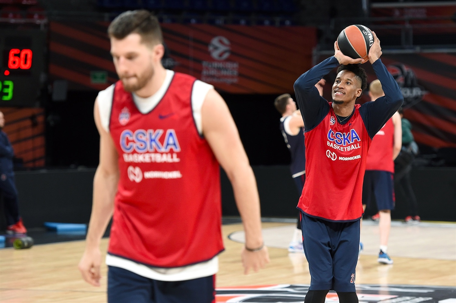 Will Clyburn - CSKA Moscow practices - Final Four Vitoria-Gasteiz 2019 - EB18