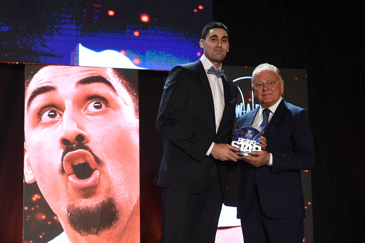 Goga Bitadze, Rising Star - 2018-19 Awards Ceremony - Final Four Vitoria-Gasteiz 2019 - EB18