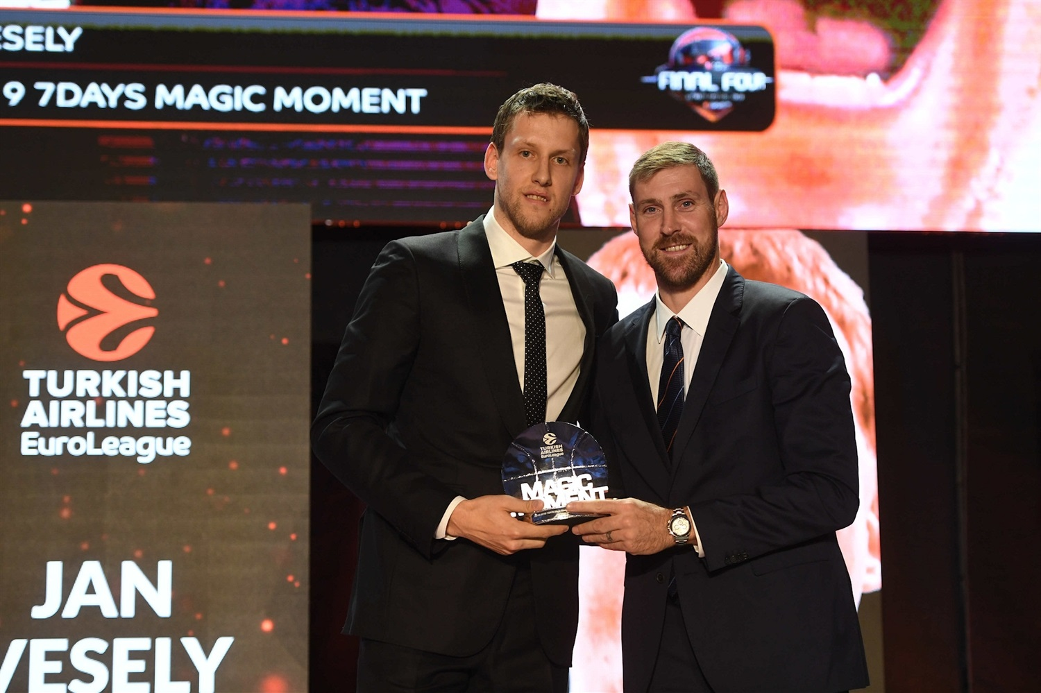 Jan Vesely, Magic Moment - 2018-19 Awards Ceremony - Final Four Vitoria-Gasteiz 2019 - EB18